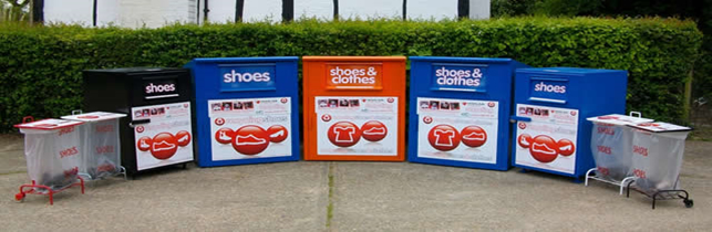 Recycle your shoes - Shoe recycling bins