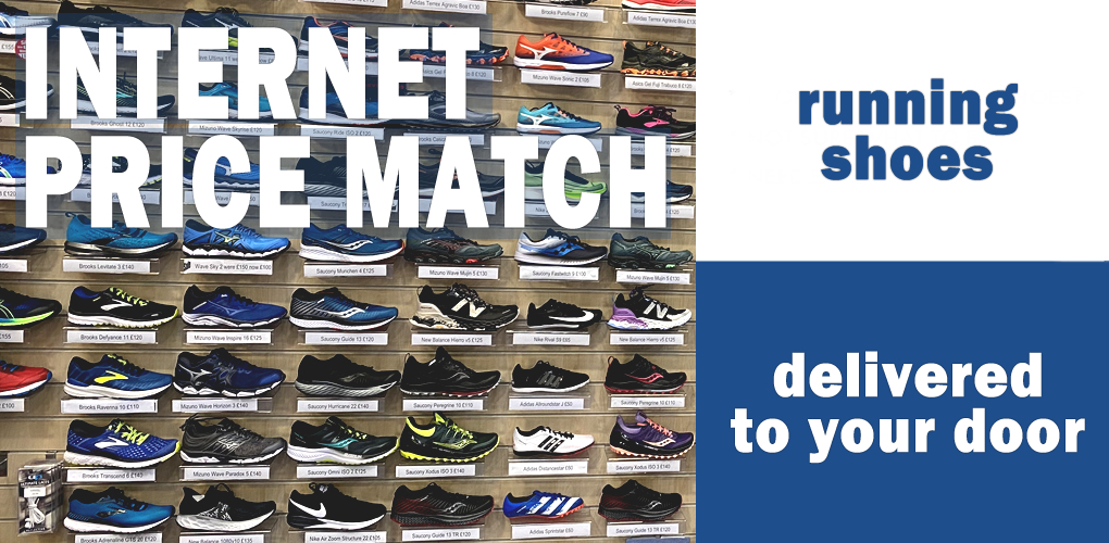Running Shoe Internet Price Match