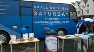 Small Business Saturday Tour Stalls